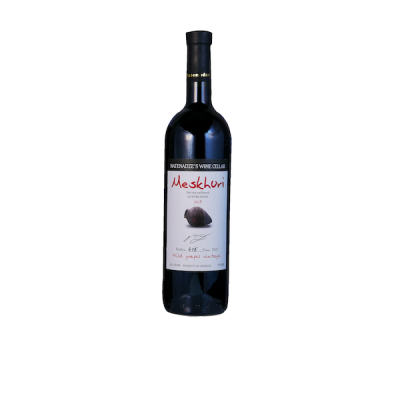 Meskhuri Red 2016 - made from wild grapes