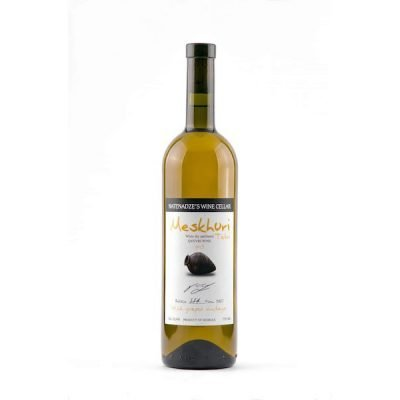 Meskhuri Tetri white (orange/amber) 2016 - made from wild grapes